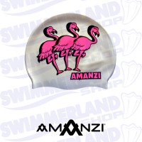 Flamingle Swim Cap