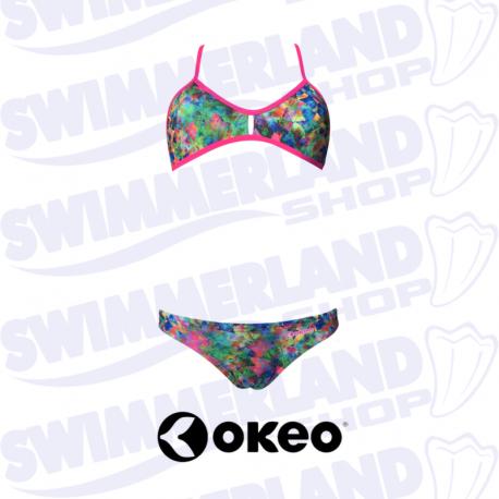 Okeo livia due pezzi 11692 for Costumi piscina due pezzi