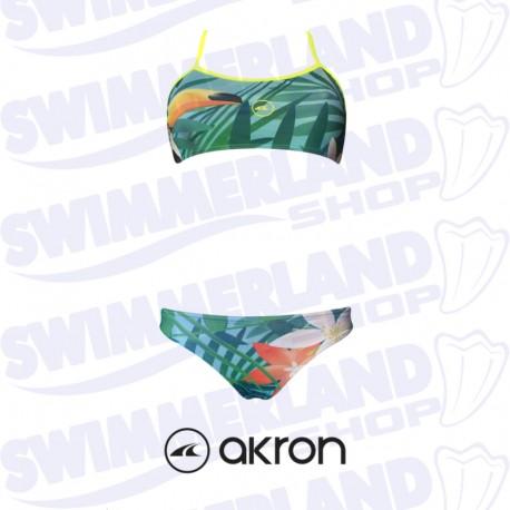 Costume a due pezzi da nuoto akron tucano 2 pieces woman for Costumi piscina due pezzi