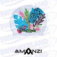 Chameleon Swim Cap
