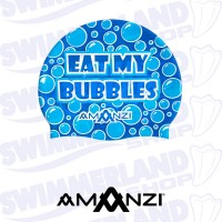 Eat My Bubbles Swim Cap