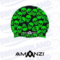 Bone Yard Swim Cap