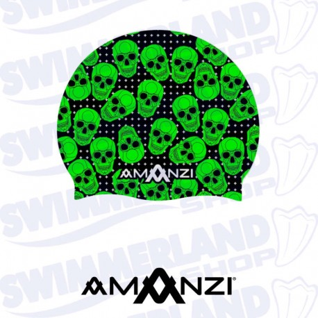 Bone Yard Swim Cap
