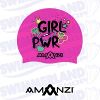 Girl Power Swim Cap