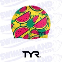 Watermelon Silicone Swim Cap