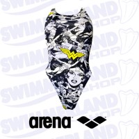 W Wonder Woman Swim Tech