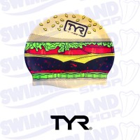 Hamburger Swim Cap