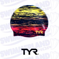 Sunset Swim Cap