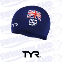 British Federation Silicone Swim Cap