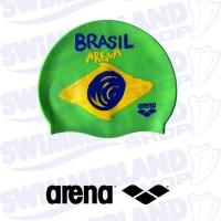 Brasil Flag Silicone Cap
