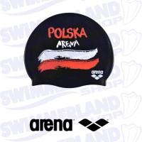 Polska Flags Silicone Cap