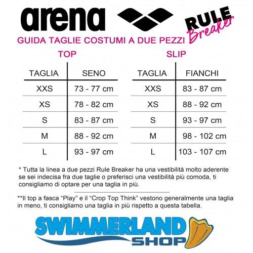 Arena costumi da donna due pezzi piscina slip nuoto free for Costumi piscina due pezzi
